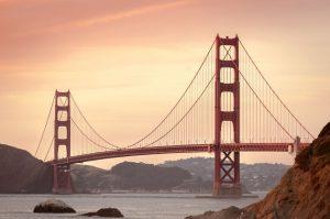 Golden Gate Bridge estate a San Francisco California