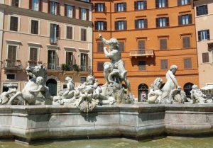 fontana del nettuno piazza navona roma