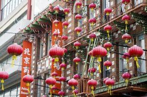 estate a san francisco chinatown lanterne