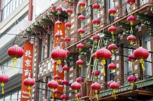 estate a san francisco chinatown lanterne