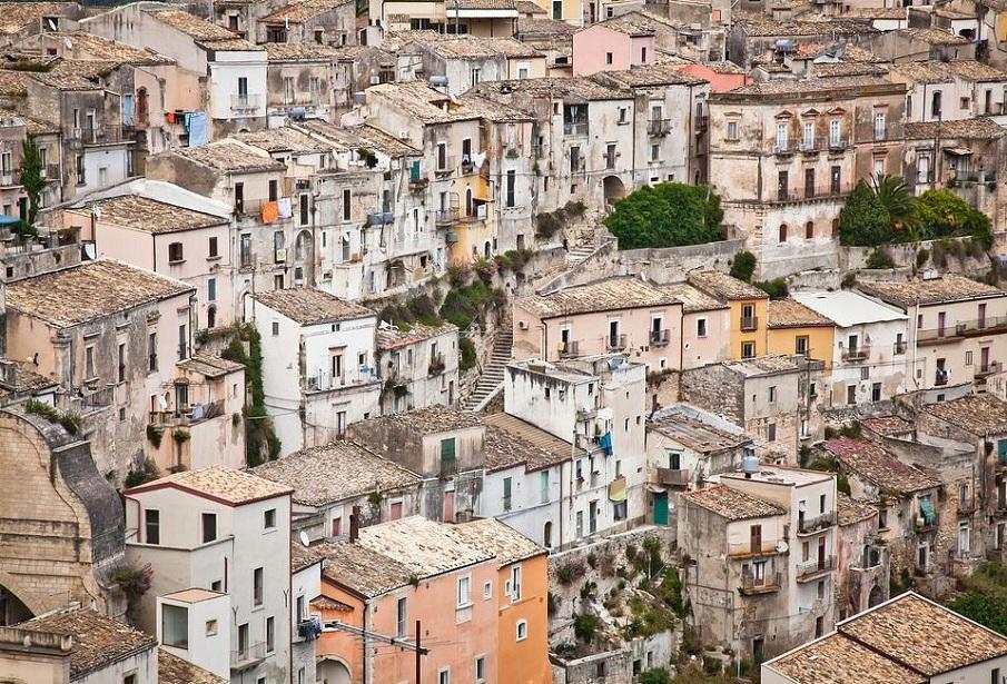 ragusa colori della Sicilia