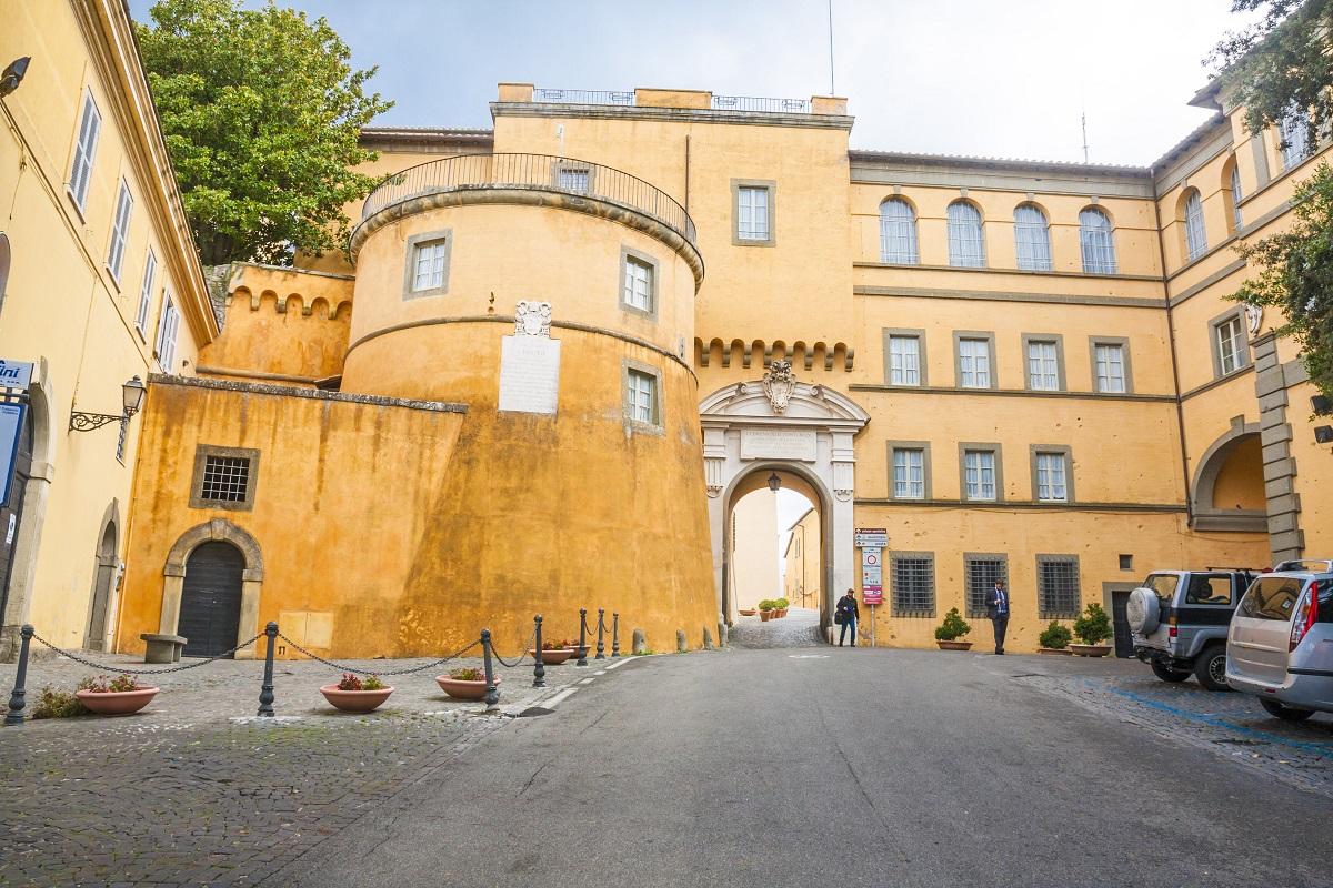 Castel Gandolfo Besichtigung