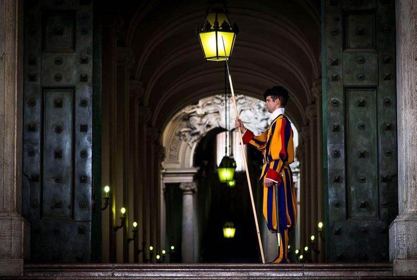 città del vaticano guardie svizzere