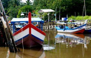 barche da pesca in Malesia