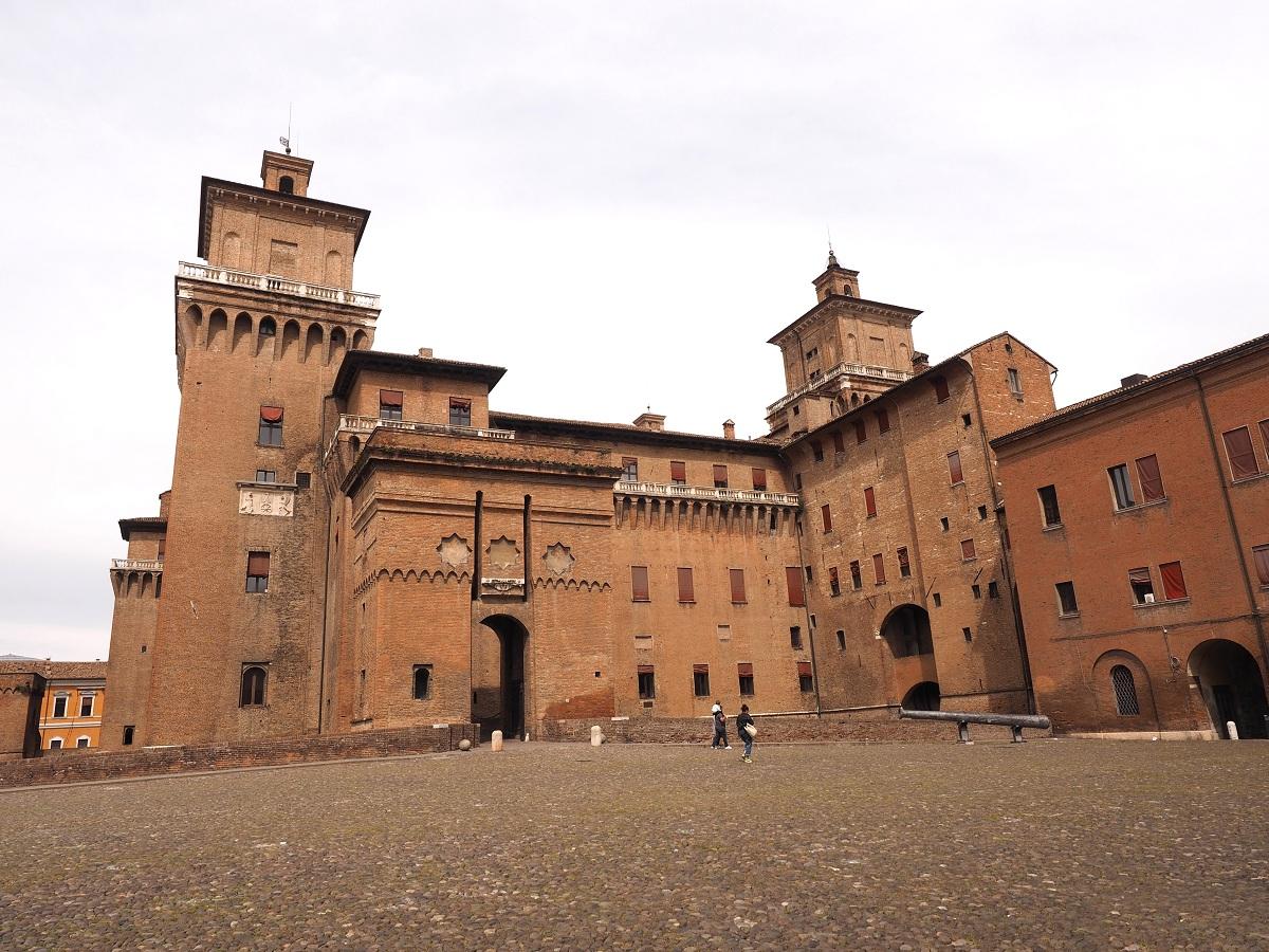 Castello Estense Ferrara cosa vedere