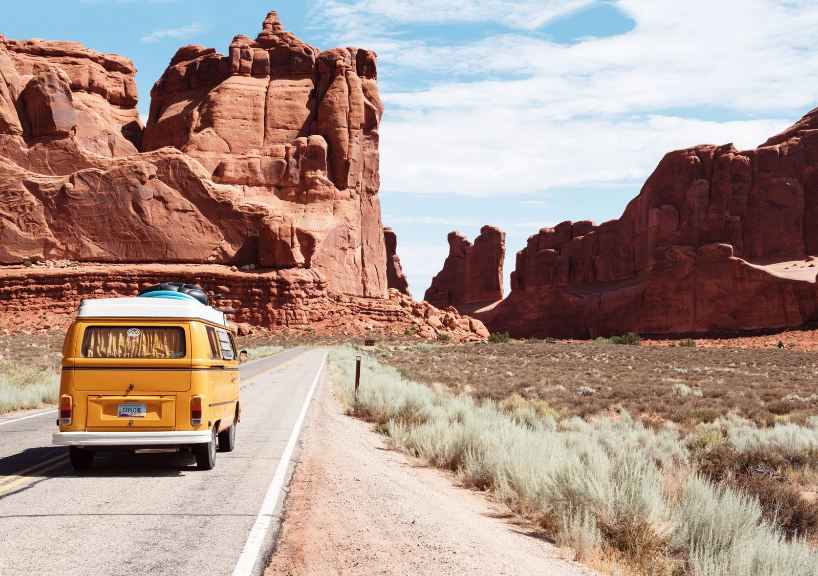 Blog Turismo National Park Entrance Moab United States