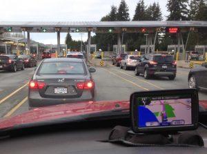 Canada autostrada verso Vancouver