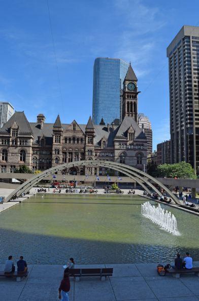 Nathan Philips Square Toronto Canada